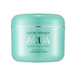 Nature Republic Super Aqua Max Deep Moisture Sleeping Pack 100ml korean cosmetic skincare shop malaysia singapore indonesia