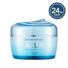 Nature Republic Super Aqua Max Fresh Watery Cream 80ml korean cosmetic skincare shop malaysia singapore indonesia