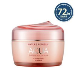 Nature Republic Super Aqua Max Moisture Watery Cream 80ml korean cosmetic skincare shop malaysia singapore indonesia
