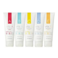 It's Skin Vita B Cleansing Foam 150ml korean cosmetic skincare cleansing malaysia indonesia philippine singapore