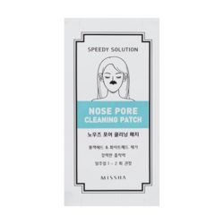 Missha Speedy Solution Nose Pore Cleaning Patch Set korean cosmetic skincare product online shop malaysia usa thailand