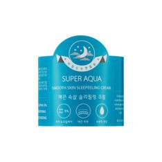 Missha Super Aqua Smooth Skin Sleeping Cream 50ml korean cosmetic skincare shop malaysia singapore indonesia