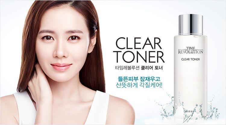Missha Time Revolution Clear Toner 250ml malaysia singapore brunei
