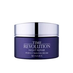 Missha Time Revolution Night Repair Perfect Master Cream 50ml korean cosmetic skincare shop malaysia singapore indonesia