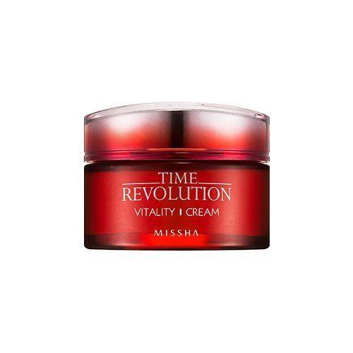 Missha Time Revolution Vitality Cream 50ml korean cosmetic skincare shop malaysia singapore indonesia