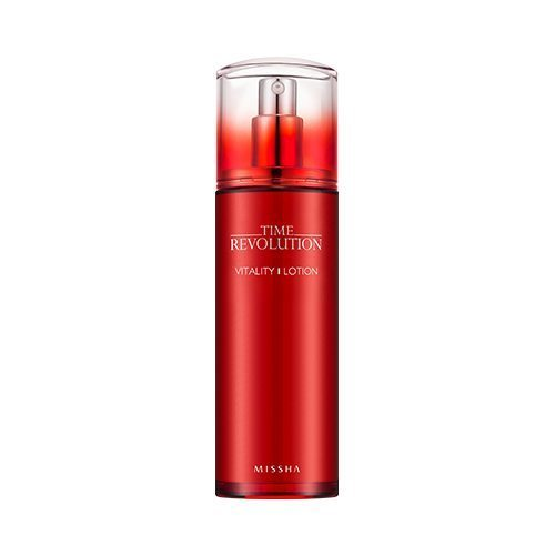 Missha Time Revolution Vitality Lotion 130ml korean cosmetic skincare shop malaysia singapore indonesia