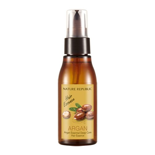 Nature Republic Argan Essential Deep Care Hair Essence 60ml korean cosmetic skincare shop malaysia singapore indonesia