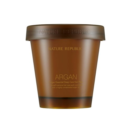 Nature Republic Argan Essential Deep Care Hair Pack 200ml korean cosmetic skincare shop malaysia singapore indonesia