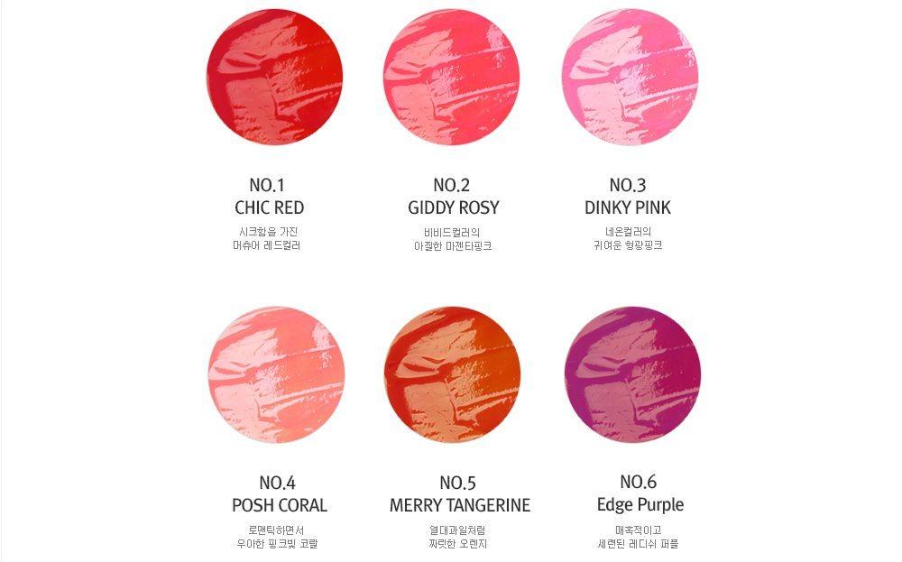 Too Cool for School Check Glossy Blaster Tint 4.8ml korean cosmetic malaysia indonesia singapore philippine vietnam2