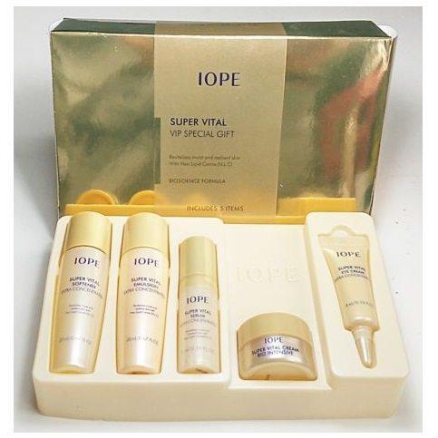 IOPE Super Vital VIP Special Gift 5 pcs 55ml IOPE malaysia singapore thailand vietnam philippine brunei