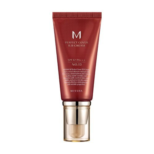Missha M Perfect Cover BB Cream SPF 42 PA+++ 50ml korean cosmetic skincare shop malaysia singapore indonesia