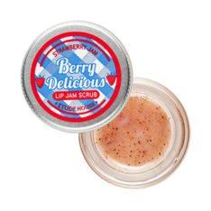 Etude House Berry Delicious Strawberry Lip Jam Scrub 15g korean cosmetic skincare shop malaysia singapore indonesia
