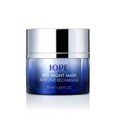 IOPE Bio Night Mask Intensive Recharging 50ml korean cosmetic skincare shop malaysia singapore indonesia