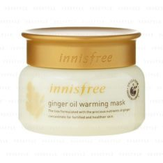 Innisfree Ginger Oil Warming Mask 80g korean cosmetic skincare shop malaysia singapore indonesia