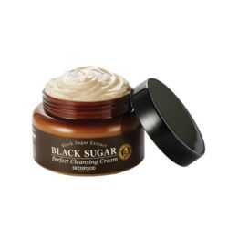 SkinFood Black Sugar Perfect Cleansing Cream 230ml korean cosmetic skincare shop malaysia singapore indonesia