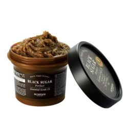 SkinFood Black Sugar Perfect Essential Scrub 2X 210g korean cosmetic skincare shop malaysia singapore indonesia