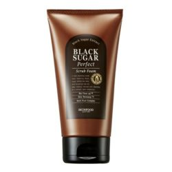SkinFood Black Sugar Perfect Scrub Foam 180g korean cosmetic skincare shop malaysia singapore indonesia