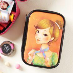 Tina S Enamel Beauty Pouch korean cosmetic skincare shop malaysia singapore indonesia