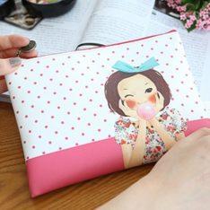 Tina S Enamel Mini Clutch korean cosmetic skincare shop malaysia singapore indonesia