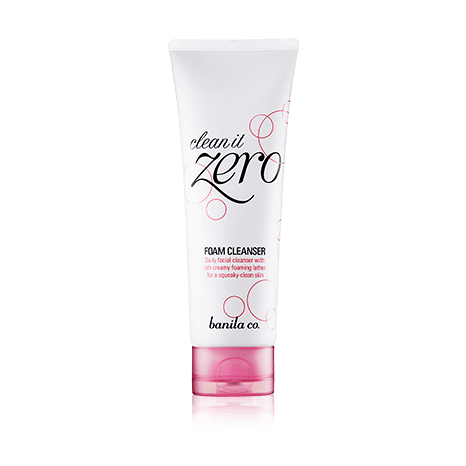 Banila Co Clean It Zero Foam Cleanser 150ml korean cosmetic skincare shop malaysia singapore indonesia