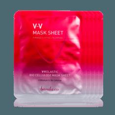 Banila Co V V Elastic Bio Cellulose Mask Sheet 25g korean cosmetic skincare shop malaysia singapore indonesia