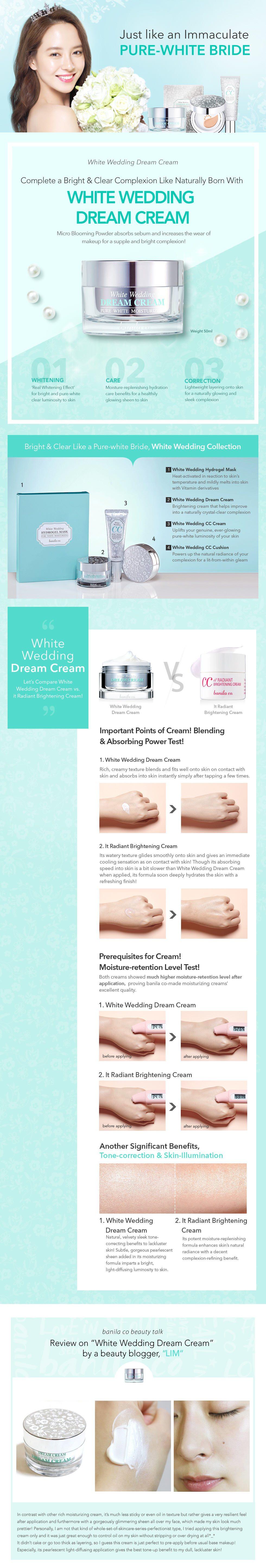 Banila Co White Wedding Dream Cream 50ml malaysia singapore indonesia