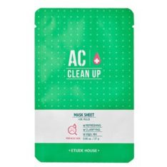 Etude House AC Clean Up Sheet Mask price malaysia singapore brunei vietnam thailand philippine