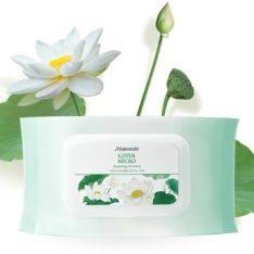 Mamonde Lotus Micro Cleansing Oil Tissue 250g [50 sheet] korean cosmetic skincare shop malaysia singapore indonesia