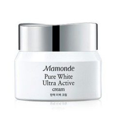 Mamonde Pure White Ultra Active Cream 50ml korean cosmetic skincare product online shop malaysia italy thailand