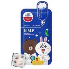 Mediheal Line Friends NMF Aquaring Ampoule Mask 10pcs price malaysia singapore brunei philippine thailand vietnam hongkong taiwan china