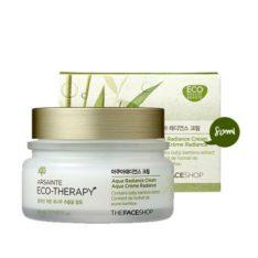 The Face Shop Arsainte Eco Therapy Aqua Radiance Cream 80ml korean cosmetic skincare product online shop malaysia  japan china