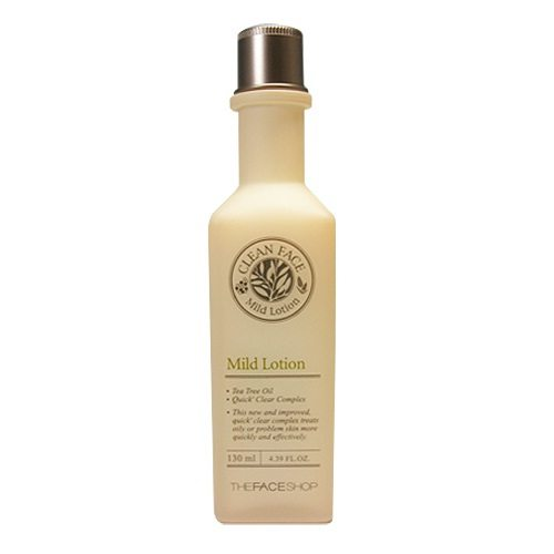 The Face Shop Clean Face Mild Lotion 130ml korean cosmetic skincare product online shop malaysia japan china