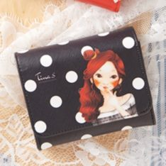 Tina. S PU Mini Wallet korean cosmetic skincare shop malaysia singapore indonesia