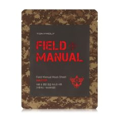 TONYMOLY Field Manual Mask Sheet 25ml x 5 korean cosmetic skincare shop malaysia singapore indonesia