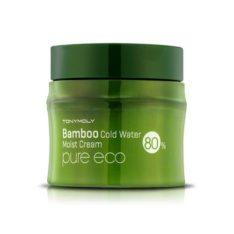 TONYMOLY Pure Eco Bamboo Cold Water Moist Cream 200mlkorean cosmetic skincare shop malaysia singapore indonesia