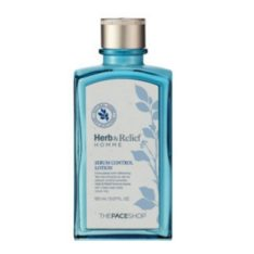 The Face Shop Herb & Relief Homme Sebum Control Lotion 150ml korean cosmetic men skincare product online shop malaysia poland finland
