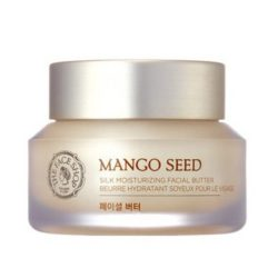 The Face Shop Mango Seed Silk Moisturizing Facial Butter Cream 50ml korean cosmetic skincare product online shop malaysia japan china