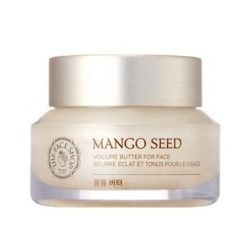 The Face Shop Mango Seed Volume Butter For Face 50ml korean cosmetic skincare product online shop malaysia  japan china