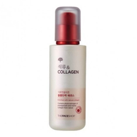 The Face Shop Pomegranate and Collagen Volume Lifting Essence 80ml korean cosmetic skincare product online shop malaysia japan china