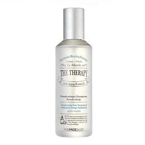 The Face Shop The Therapy Moisturizing Tonic Treatment 150ml korean cosmetic skincare product online shop malaysia japan china