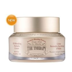 The Face Shop The Therapy Oil Blending Formula Cream 50ml korean cosmetic skincare product online shop malaysia japan china