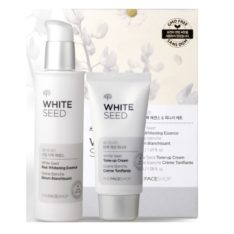 The Face Shop White Seed Real Whitening Essence 50ml and Tone Up Cream 32ml korean cosmetic skincare product online shop malaysia japan chia