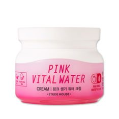 Etude House Pink Vital Water Cream 60ml korean cosmetic skincare shop malaysia singapore indonesia