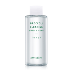 Innisfree Broccoli Clearing Toner 150ml korean cosmetic skincare shop malaysia singapore indonesia