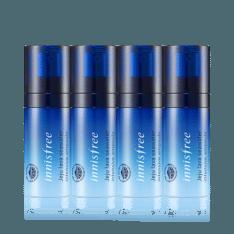 Innisfree Jeju Lava Seawater Intensive Ampoule 8ml x 4 pcs korean cosmetic skincare shop malaysia singapore indonesia