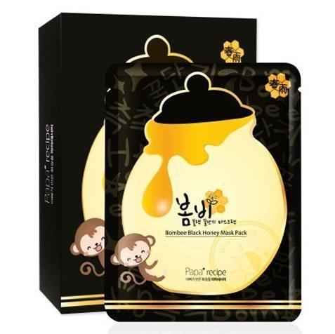 Papa Recipe Bombee Black Honey Mask Pack 10pcs/box 270ml