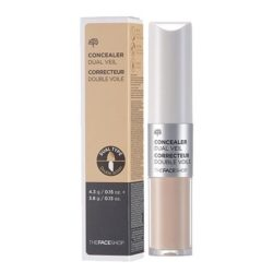 The Face Shop Concealer Dual Veil 10g korean cosmetic  makeup  product online shop  malaysia  thailand bhutan