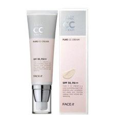 The Face Shop Face It Color Control Pure Cream SPF 30 PA++ 40ml korean cosmetic makeup product online shop malaysia thailand bhutan