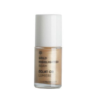 The Face Shop Gold Highlighter Beam 14ml korean cosmetic makeup product online shop malaysia thailand bhutan