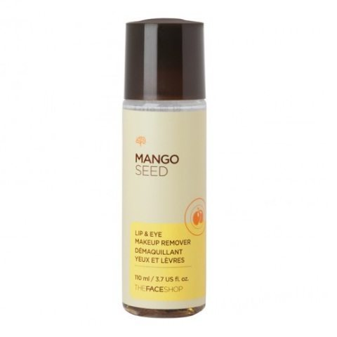 The Face Shop Mango Seed Lip and Eye Makeup Remover 110ml korean cosmetic skincare cleanser product  online shop malaysia  italy usa